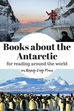Read around the world with this fantastic selection of books about the Antarctic with lists for preschoolers and elementary kids as you read around the world.