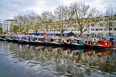 Canalway Cavalcade 2013 at Little Venice in London