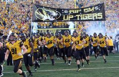 mizzou tigers | Mizzou Tigers football new black helmet uniforms v