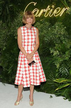 Anna Wintour - Arrivals at MOMA's Party in the Garden