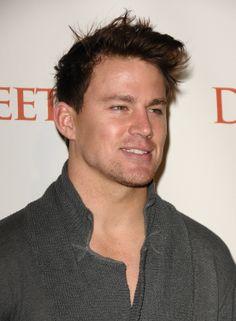 Channing Tatum had longer locks in November 2009 in LA.