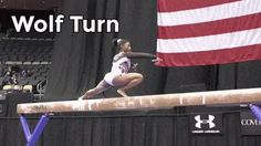 Simone Biles - wolf turn on beam