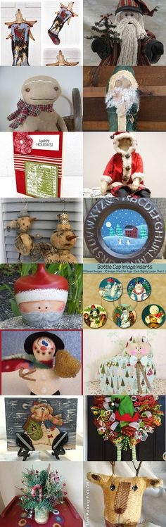 Handmade Christmastime from our Hearts by Sandi Ramirez on Etsy--Pinned with TreasuryPin.com