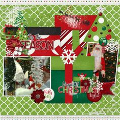 2 Tuesday from Connie Prince.  Grab this gorgeous kit for just $2, and additional packs for just $1 each, today only. All packs can be purchased separately, these are big deals, don't miss out! Layout created using Filled with Joy Collection Christmas Words, Christmas Labels, 1st Christmas, Christmas Gifts, Christmas Ornaments, Deer Silhouette, December 25, Holiday Traditions, Lower Case Letters
