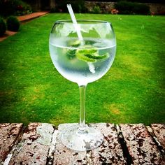 Now the rain has gone, it's time for our cocktail of the month, an Ish Gin and 1724 tonic on the terrace Alcoholic Drinks, Cocktails, Victorian Gardens, Short Break, Has Gone, The Locals, White Wine, Brewery, Great Places
