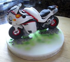 Motorcycle #cake #toppers