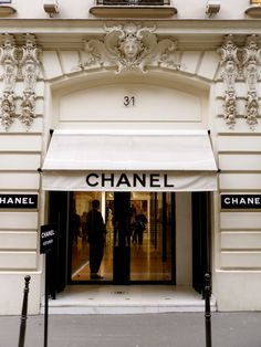 Chanel Boutique at 31 Rue Cambon, Paris