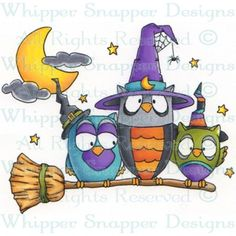 Broomstick Owls