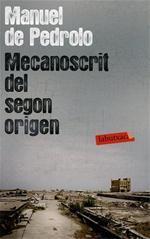 Mecanoscrit del segon origen - Manuel de Pedrolo