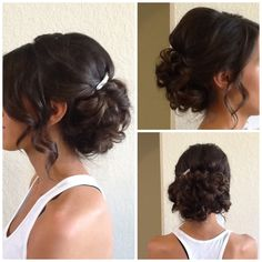 Wedding hair/ loose up do // exquisite reflections !