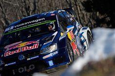 L'intero podio del rally di Monte Carlo veste i colori della nuova Volkswagen Polo R WRC