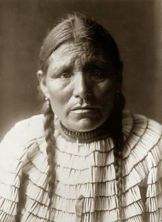 Sioux native american woman