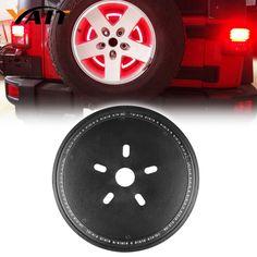 Yait Spare Tire Wheel LED 3rd Third Brake Light Lamp Ring for Jeep Wrangler JK TJ LJ YJ CJ