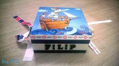 DecuPUG: #13 Pudełko dla Filipka i wymiana blogowa z Uszyciuchem