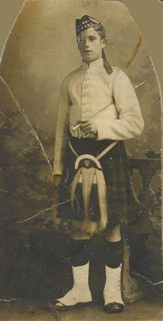 Thomas Joseph McRae Cameron Highlanders KIA 1916 WW1.