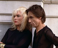 Image result for debbie harry iggy pop Newell & Thelema Crowley