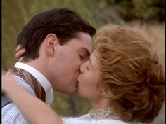 Anne and Gilbert from Anne of Green Gables.