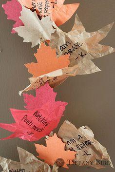 thanksgiving thankful garland