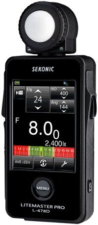 Sekonic Reveals Litemaster Pro L-478DR and L-478D Touchscreen Light Meters | Popular Photography