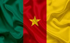 Download wallpapers Cameroon flag, Africa, Cameroon, national symbols, flag of Cameroon