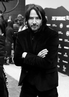 Actor Keanu Reeves attends the 'To The Bone' Premiere on day 4 of the 2017 Sundance Film Festival at Eccles Center Theatre on January 22, 2017 in Park City, Utah.