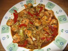 Thai Basil Shrimp #seafood