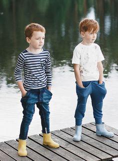 EU) Think! Young Boys Fashion, Boy Fashion, Fashion Ideas, Big Kids, Cute Kids, Stitch Fix Kids, Baby Pants, Kid Styles, Denim Pants
