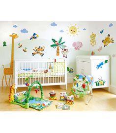 Baby boy's room ideas, jungle theme