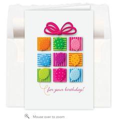 Patchwork Present Birthday Card Kids Birthday Cards, Handmade Birthday Cards, Diy Birthday, Patchwork Cards, Holiday Cards, Christmas Cards, Spinner Card, Bird Cards, Creative Cards