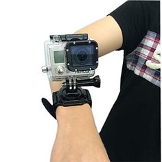 New Arrival 360 degrees rotation Wrist Strap Band Mount for Waterproof Housing Case of GoPro Hero 2,3,3+ – USD $ 11.69