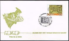 1132 PERU FDC COVER 1986  CHAN-CHAN ARCHAEOLOGY HERITAGE