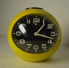 funky vintage 70s  yellow ball shaped  Pop Art by Hotlavabeach, £19.90