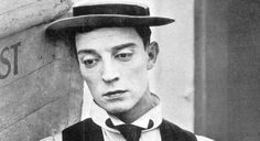 "Buster Keaton     1927    ""The screen was just a white sheet. They had this flickering machine. That was the first time I saw this angel with a white face and these beautiful eyes. I knew this was something special. It was the first time I saw Keaton. He wore a flat pancake of a hat, and I just couldn't believe the man's grace."" Mel Brooks, as quoted in James Robert Parish, ""It's Good to Be the King : The Seriously Funny Life of Mel Brooks"" 2008"