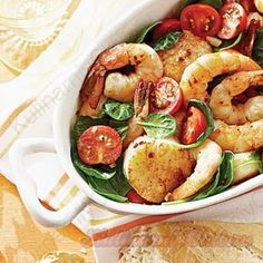 Креветки и гребешки on http://kulinarniyclub.ru Shrimps & scallops