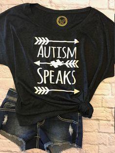 autism speaks shirt - autism awareness shirt - autism top - autism shirt by WaterhouseDesign on Etsy https://www.etsy.com/listing/520962193/autism-speaks-shirt-autism-awareness