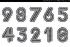 countdown font