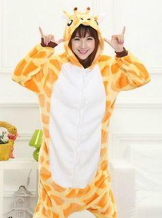 967758ec9bec Giraffe costume pajamas sleepwear. Matching Family ...