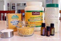Make Your Own All-Natural Deodorant {Stick or Spray} - One Good Thing by JilleePinterestFacebookPinterestFacebookPrintFriendly