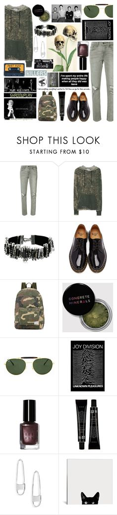 """To the centre of the city in the night, waiting for you..."" by curekitty ❤ liked on Polyvore featuring Levi's, Cotton Citizen, Marc Jacobs, Dr. Martens, Herschel Supply Co., Ray-Ban, Shadowplay, Bobbi Brown Cosmetics and Rebecca Minkoff"