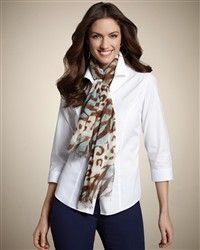 butterfly scarf from Chicos