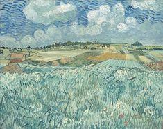 """""""Plain Near Auvers"""", (1890) by Vincent Van Gigh"""