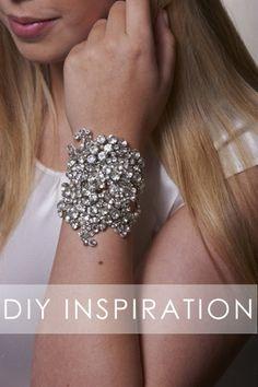 Bromeliad: DIY cuff bracelet inspiration - Fashion and home decor DIY and inspiration