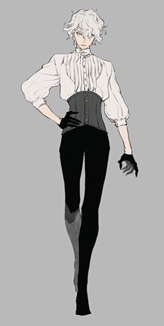 Male Character, Character Outfits, Art Reference Poses, Design Reference, Hand Reference, Anime Outfits, Lolita Gothic, Rikka And Yuuta, Kleidung Design