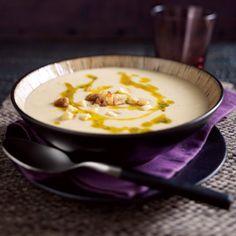 Sellerie-Süppchen mit Petersilien-Knoblauch-Öl Rezept
