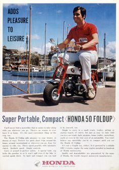 Honda | モーターサイクル・グラフィティ | Monkey Z50M | 復刻アドギャラリー
