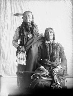 Little Chief and Turkey Leg – Southern Cheyenne - 1899