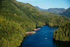 """""""Nimmo Bay Wilderness Resort in British Columbia is one of the most unique luxury destinations in the world. See the full list of Unique Lodges at…"""" Oh The Places You'll Go, Places To Visit, National Geographic Expeditions, Wilderness Resort, Bay Photo, Hotels And Resorts, British Columbia, Lodges, Dream Vacations"""
