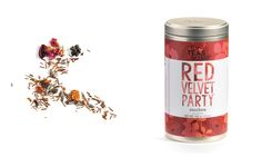 For Teas Sake Red Velvet Party. Loose leaf rooibos tea net wt A luxurious blend of velvety Rooibos with lavender, roses and berry highlights. Every sip of this sophisticated tea tastes like a Red Velvet Party. Sour Apple Martini, Cruel Girl, Tea Blends, Loose Leaf Tea, Western Outfits, Lunches And Dinners, Red Velvet, Coffee Shop, Berries