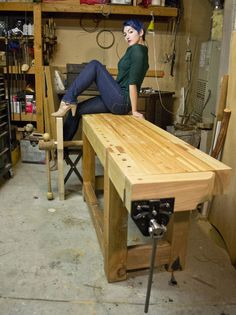 Workbench Design Ideas i built a mobile workbench imgur Roubo Style Workbench