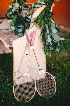 Corn hole is so 2014. Why not do badminton?RusticRevival_120.jpg